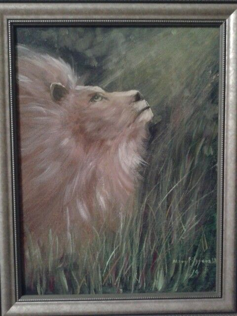 THE LION OF JUDAH by mary Fitzgerald