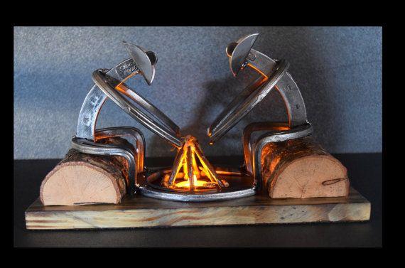 73 best welding projects images on pinterest - Hufeisen dekorieren ...