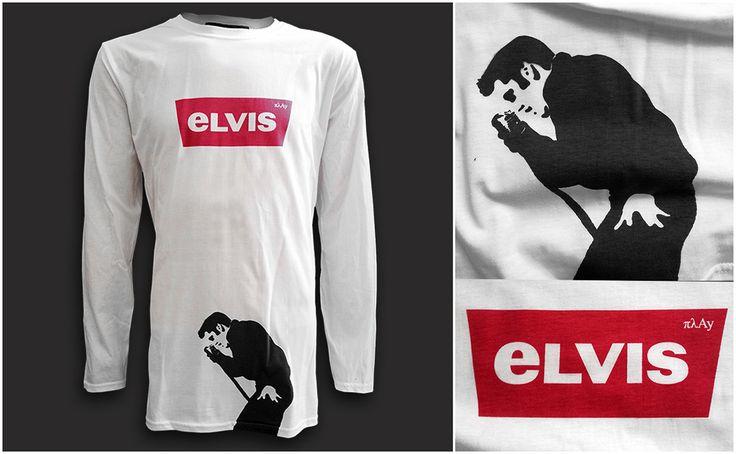 Elvis Long Sleeve T-shirt #fashion #style #elvis #elvispresley #sarcastic #logo #levis #gifts #mensfashion #menswear #menstyle #streetstyle  #streetfashion
