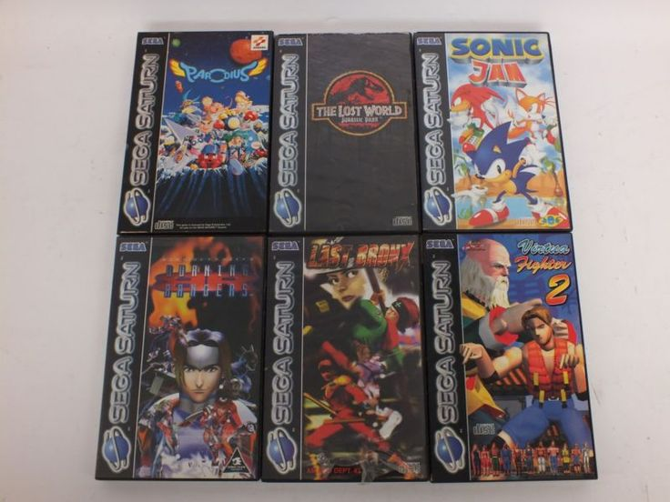 6 PAL Sega Saturn Games (charity listing)  #retrogaming #HotSS  with Burning Rangers Last Bronx Parodius Sonic Jam The Lost World Jurassic Park and Virtua Fighter 2. Not complete not in mint condition by charity listing.
