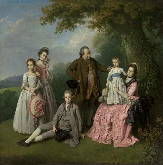 The Pybus family, Nathaniel Dance, ca. 1769; National Gallery of Victoria 2003.687