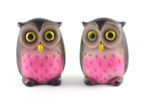 1000 images about salt pepper shaker collection on pinterest ceramics delft and antiques - Owl salt and pepper grinders ...