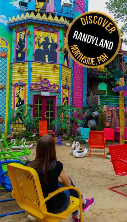 Make your way over to Randyland on the North Side to check out Pittsburgh's most colorful spot!