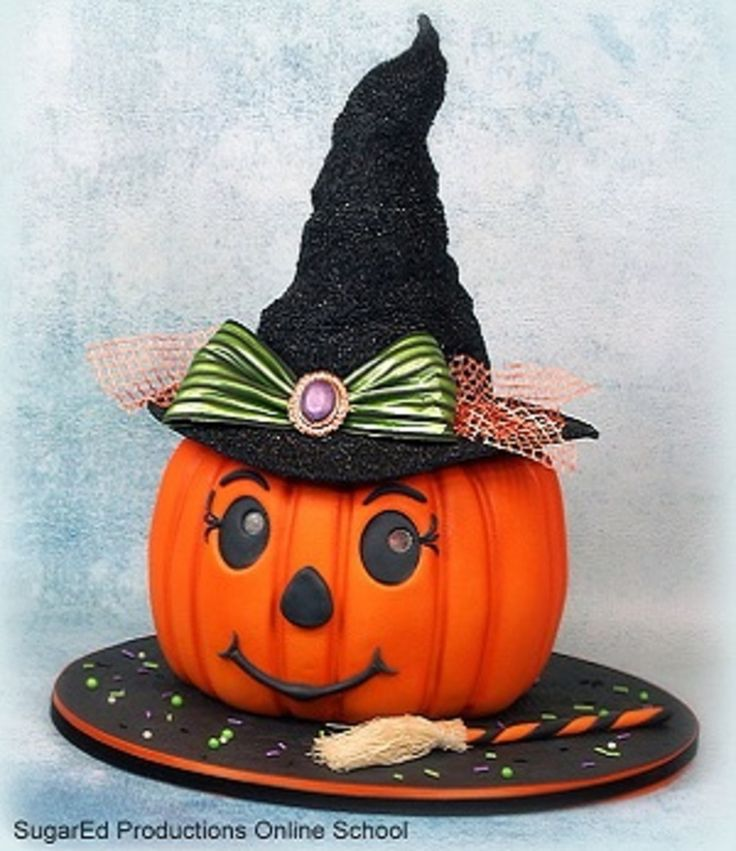 Broomelda The Jack O' Lantern Witch  on Cake Central