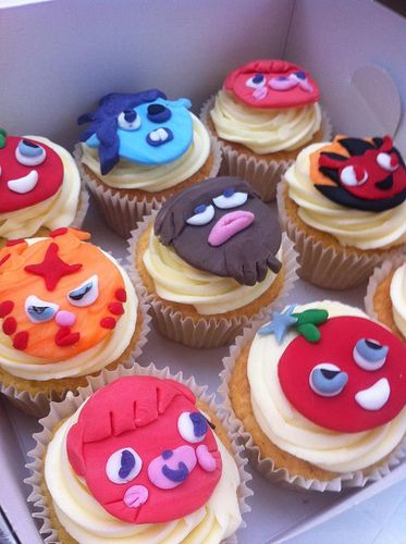 Moshi Monster Cake Toppers