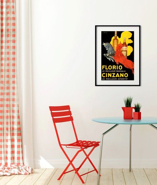 Florio Cinzano Vintage Poster- Available in different sizes