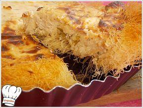 Τραγανη φωλια με φυλλο καταιφι με κρεμωδη γεμιση γιαουρτιου ,τυριων και μικρες κοτομπουκιτσες,σκετη απολαυση... Απολαυστε το!!! Ταρτιερα Νο 28