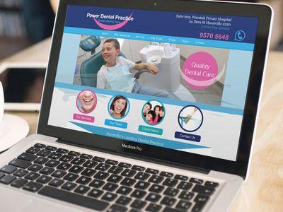 Dental website design by @wellsites #dental #dentists @dentistry #website #design #marketing http://www.wellsites.com.au/portfolio/