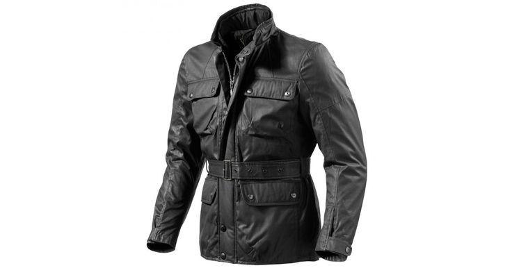 REVIT! Melville classic four pocket waxed waterproof motorcycle jacket
