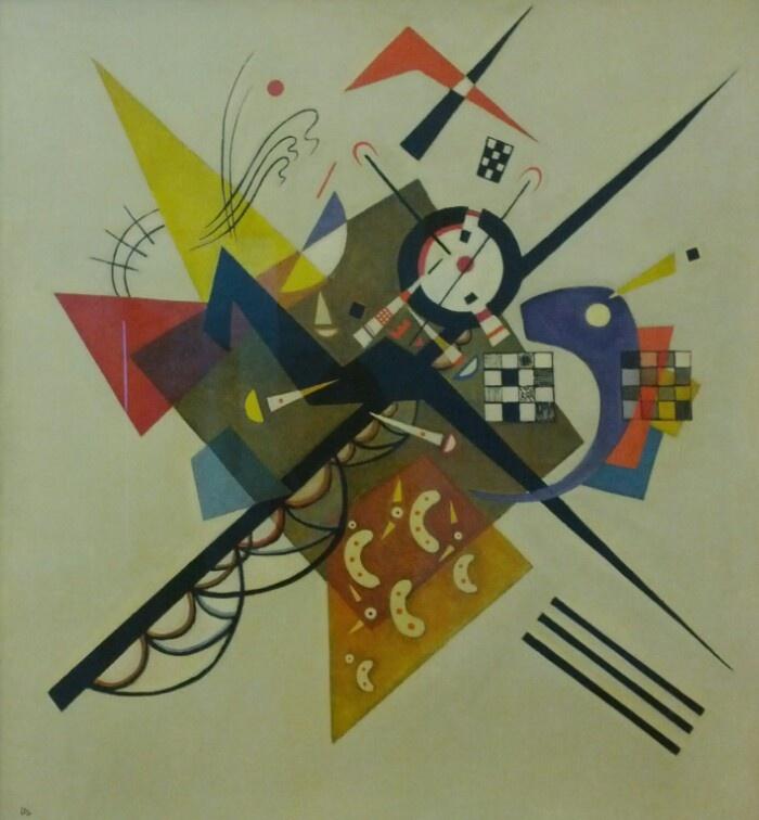 Kandinsky at Pompidou.