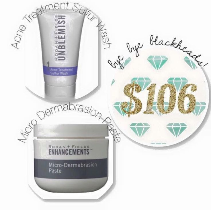"CHRISTMAS 2015!! ""I LOVE BLACKHEADS!""...said no one ever. Whether you are 16 or 46, blackheads are a pain to get rid of! This combo does the trick. First, use our micro-dermabrasion paste to remove dry cells that clog pores. Then, use our Unblemish Sulfur Wash as a 10 minute, pore-cleansing mask. This is one of my top selling combos!!! www.lindseynwright.myrandf.com/Shop"