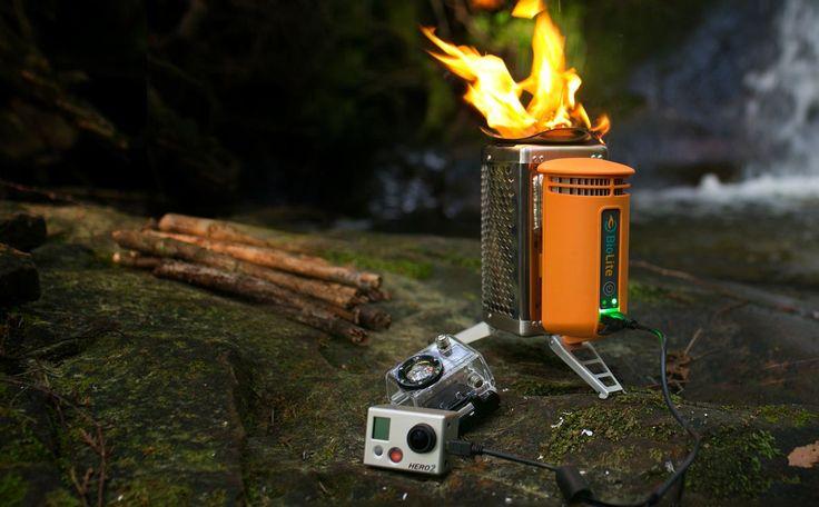 Biolite Camp Stove - Le réchaud à bois qui recharge votre portable | NeozOne http://www.neozone.org/innovation/biolite-camp-stove-le-rechaud-a-bois-qui-recharge-votre-portable/
