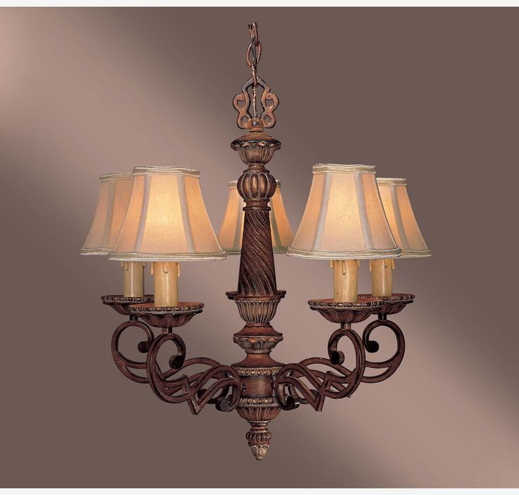 Minka Lavery Belcaro 5 Light Chandelier In Bronze