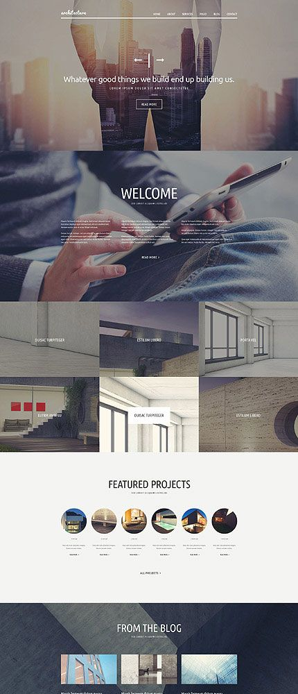 Architecture Joomla Theme