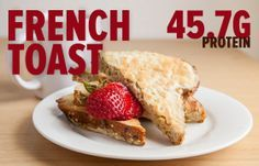 Breakfast doesn't have to come in the form of a protein shake. Serve up healthy slabs of French toast for your next brunch with this recipe. Bodybuilding.com