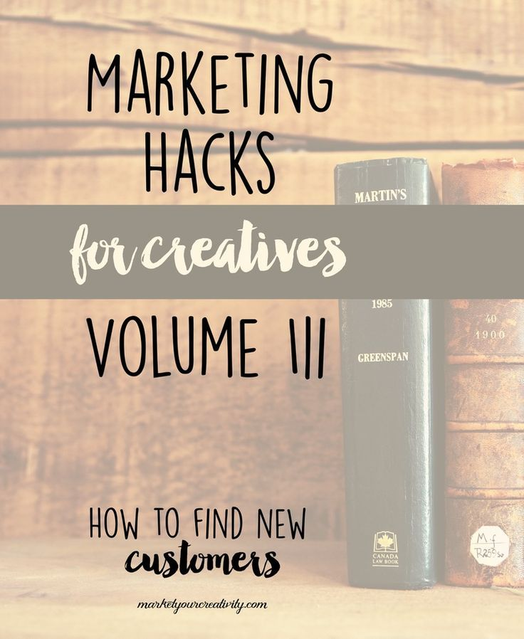 Find new customers for your creative business