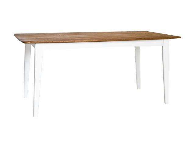 LINKÖPING Bord 170 Ek/Vit i gruppen Inomhus / Bord / Matbord hos Furniturebox (100-13-14968)