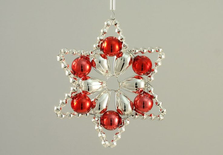 In 1920s and 1930s the beaded ornaments enjoyed the highest popularity and were exported worldwide.