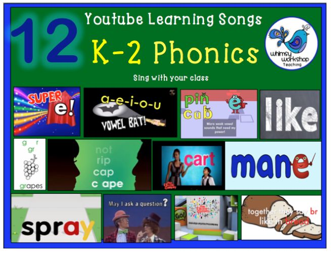 Literacy K-2 with YouTube