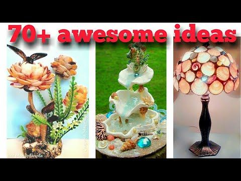 Seashell Craft Ideas For Room Decoration Diy Latest Unique And