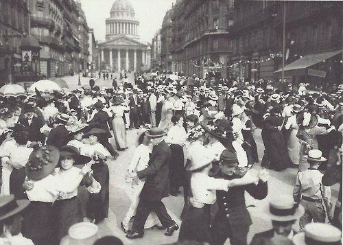 Maurice-Louis Branger- Bal du 14 juillet devant le Panthéon, Paris, 1912