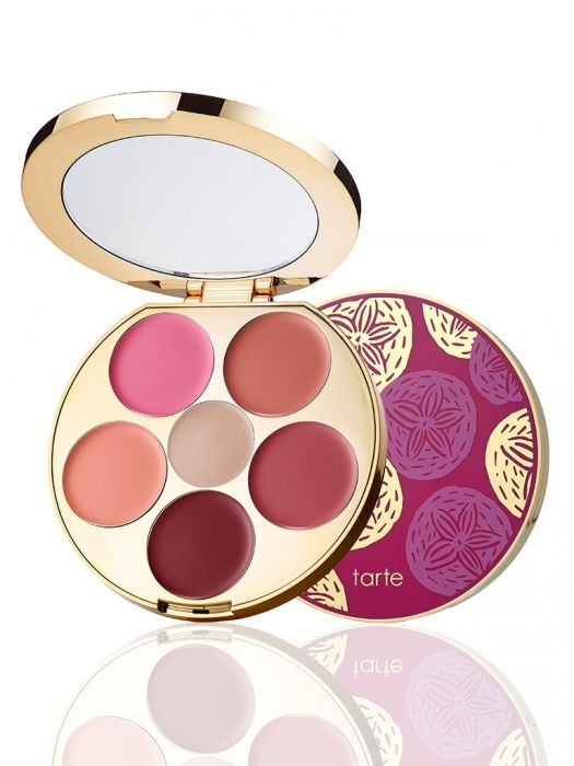 limited-edition kiss & blush cream cheek & lip palette #tartecosmetics #tarteunderthesea