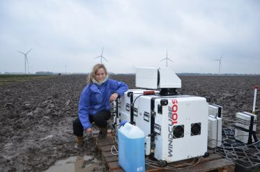 Find out how Valerie uses LIDAR to measure wind and improve planning for wind energy projects.