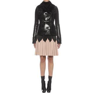 ALEXANDER MCQUEEN, Skirt, Pleated Leather Skirt