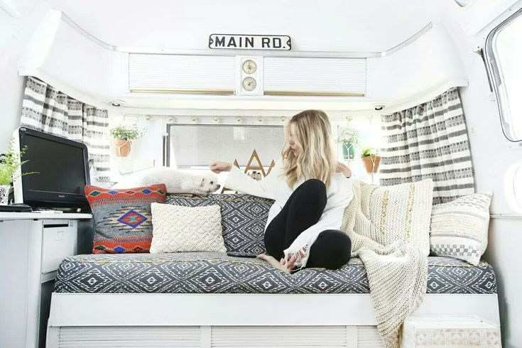 Vintage Airstream | Living area remodel