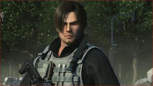 Leon S. Kennedy from Resident Evil: Damnation.
