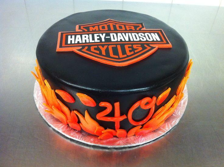 Grooms cake Harley Davidson by Whippt desserts
