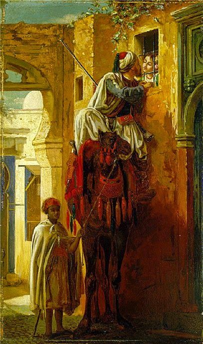 Having it away...The Tryst Jean Leon Gerome