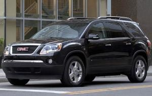 own a GMC Acadia LT- check!