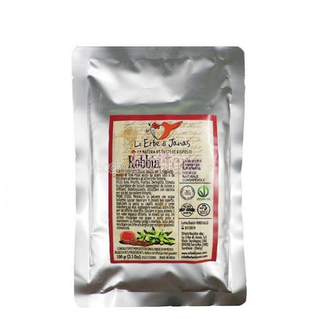 La polvere di robbia pura di Le Erbe di Janas,è utilizzata per la colorazione naturale dei capelli. La robbia è una pianta tintoria che dona un colore rosso. Aggiunta all'hennè naturale ne intensifica il colore facendolo virare a toni ciliegia intenso. Aggiunta all'henné neutro, dona riflessi rosso intensi. http://www.vecchiabottega.it/robbia-100gr-le-erbe-di-janas.html #LeERbediJanas #vecchiabottega #robbia #acquistionline #hennècapelli