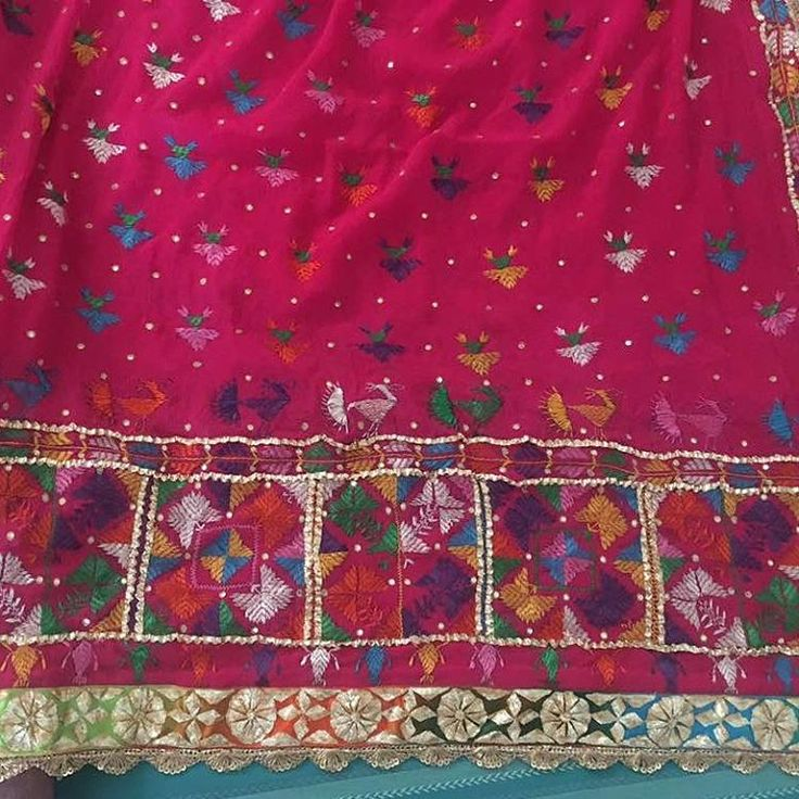 Authentic Patiala Phulkaries Collection# WhatsApp 9501088633