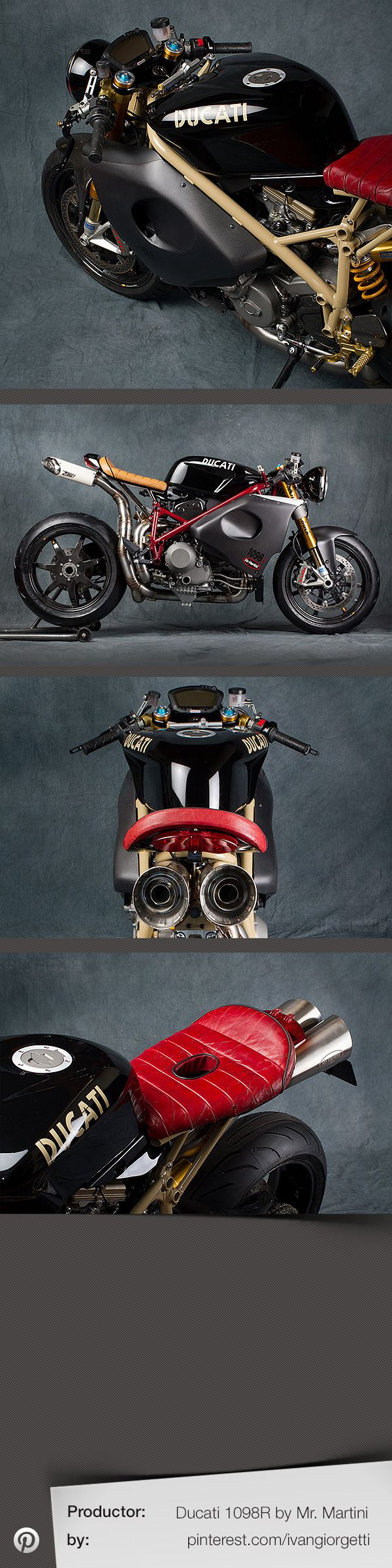 Classified moto kt600 the garage cafe - Ducati 1098r By Mr Martini Custom Motorcycle Caferacer Holy Balls This