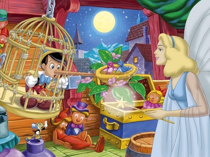 彼女の妖精の名付け親とピノキオ 漫画 高解像度で壁紙