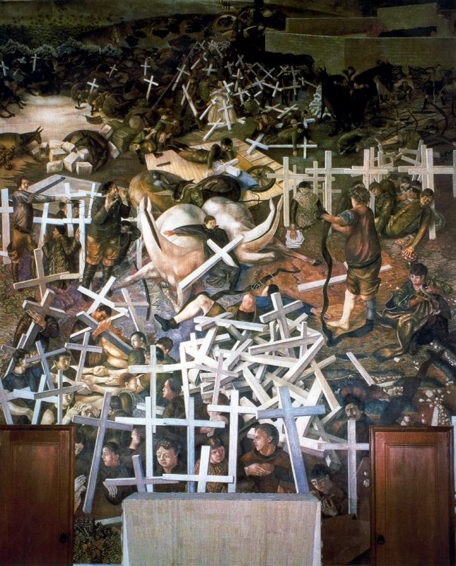 The Resurrection of the Soldiers - Stanley Spence stanley spencer resurrection - Google Search