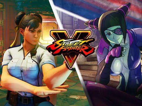 KEN - CHUN - VEGA- CAMMY: Street Fighter 5 Story - Part 3