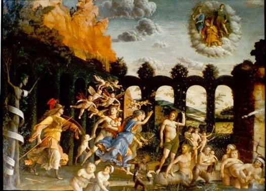 Rouge et Noir a Badem Ciflik: Andrea Mantegna - Ο Θρίαμβος της Αρετής