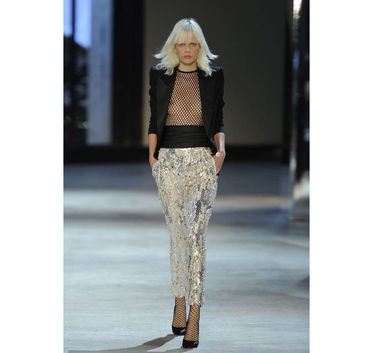 Jewelry house Swarovski and French designer Alexandre Vauthier have been combining their couture credentials in two collections a year since 2012, creating line upon line of stunning crystal-studded designs. To celebrate ten seasons of collaboration, an anniversary dress symbolic of their partnership will be presented at the Alexandre Vauthier haute couture show later this month.
