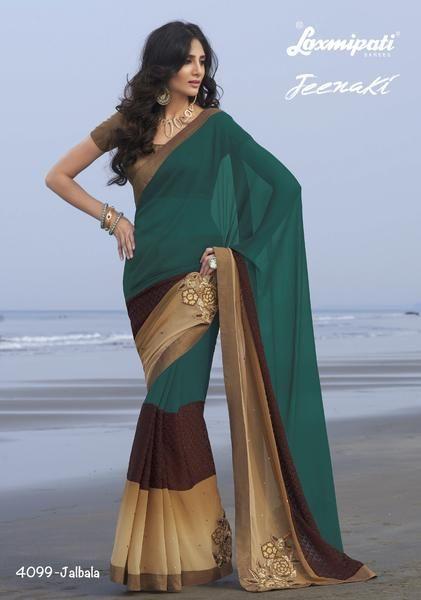 LadyIndia.com #Party Wear, Indian Designer Sari Fashion Exclusive Designer SAREE, Wedding Saree,Bridal Saree,Party Wear, https://ladyindia.com/collections/ethnic-wear/products/indian-designer-sari-fashion-exclusive-designer-saree