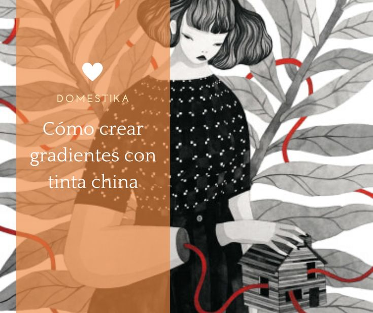 Hilda Palafox te explica, paso a paso, sus técnicas personales para crear degradados de color con tinta china #diy #affiliate #tutorial Tinta China, Diy, Anime, Movies, Movie Posters, Crafts, Create, Graphic Projects, Craft Tutorials