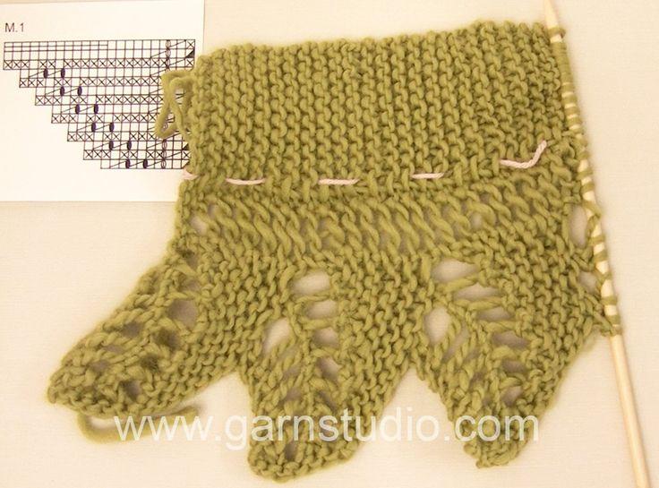 Crocheting Öğretici DROPS: Vimeo 118-16 de grafik M.1 sonra işe nasıl