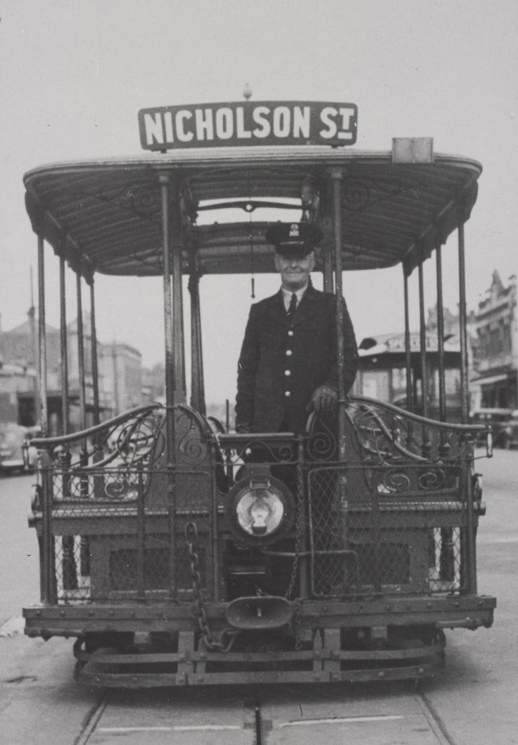 The passing of the Melbourne Cable Tramways,