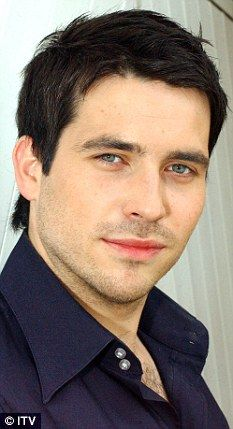 Rob James-Collier...looks a lot different when he's not the valet in Downton Abbey. I'm impressed.
