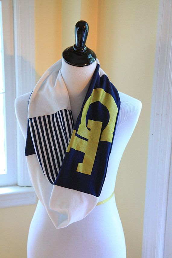georgia tech yellow jackets infinity scarf yellow jackets house