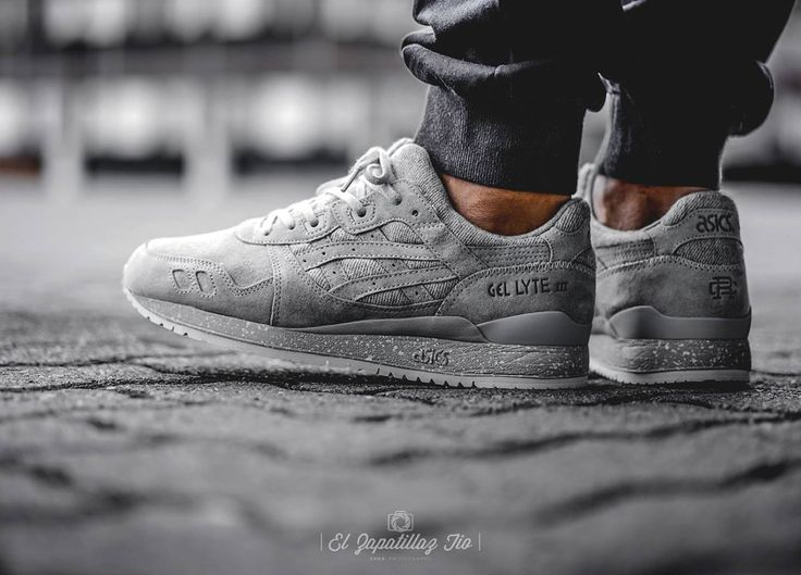 Reigning Champ x Asics Gel Lyte III - Grey - 2016 (by elzapatillaztio)