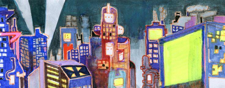 #Kosmiczne #miasto #przyszłości. # Space # city # the future.  Szymon Szlec http://szszymon.blogspot.com/