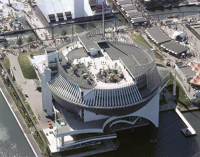 Expo 67… Pavillon de la France… Aujourd'hui le Casino…